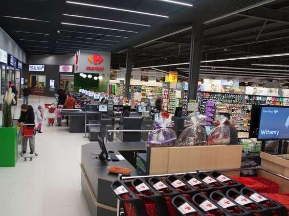 Carrefour premium na nowym rynku