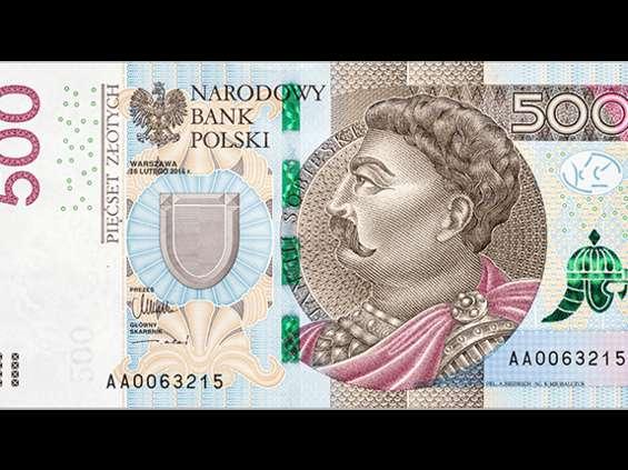 500 zł w obiegu od pół roku