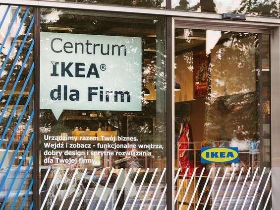 IKEA dla Firm w centrum Warszawy
