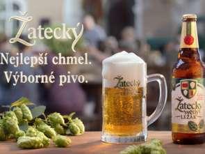 Czesi z Żateca promują nowe piwo Žatecký Světlý Ležák
