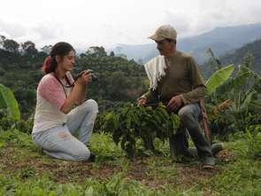Kolumbijscy farmerzy twarzami Nespresso