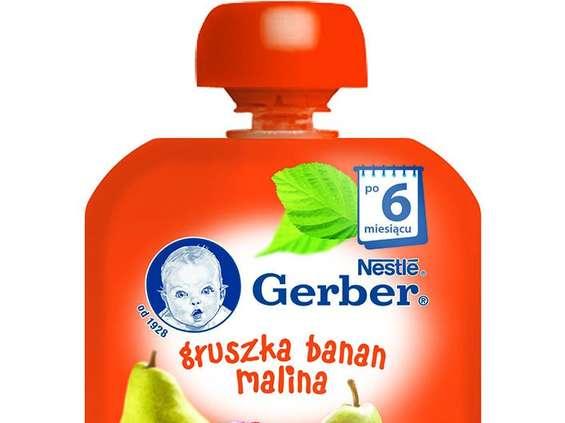 Nestle Polska. Deserki owocowe w tubkach Gerber