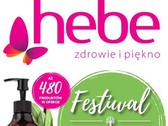 Festiwal kosmetyków w Hebe