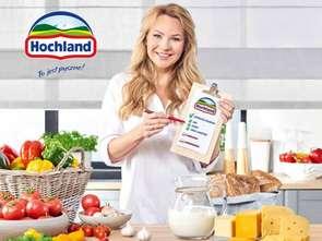 Anna Guzik w najnowszej kampanii serów Hochland