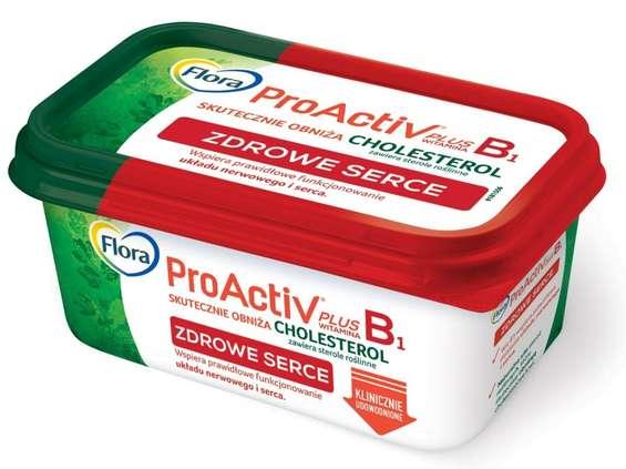 Unilever Polska. Flora ProActive Plus Zdrowe Serce