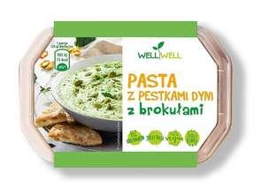 Well Well Foods. Pasta z pestkami dyni z brokułami