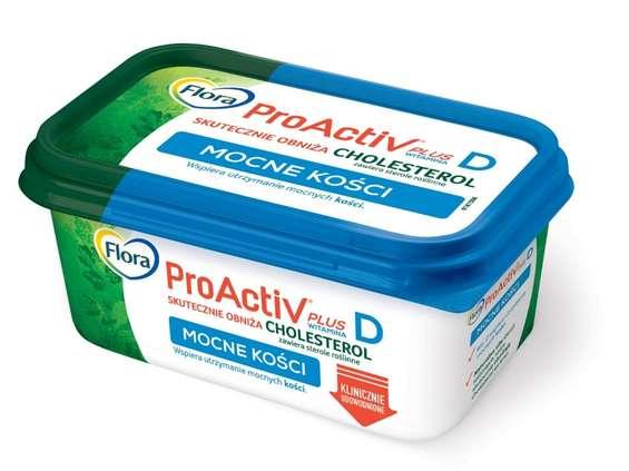 Unilever Polska. Flora ProActive Plus Mocne Kości