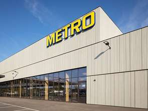 Metro otwiera pierwszy samowystarczalną energetycznie hurtownię