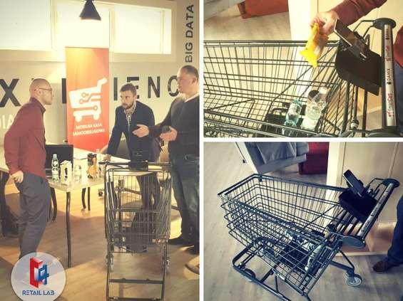 Carrefour testuje inteligentny wózek