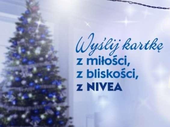 100 tysięcy świątecznych kartek od Nivea