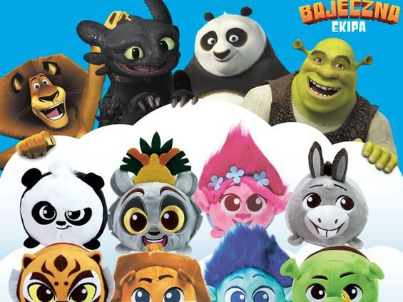 Maskotki z bajek DreamWorks w Chacie Polskiej