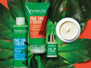 Dax Cosmetics. Perfecta Your Time is Green