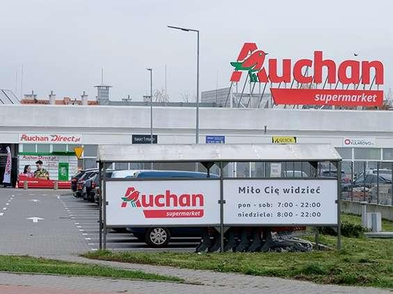 Pierwszy supermarket pod szyldem Auchan