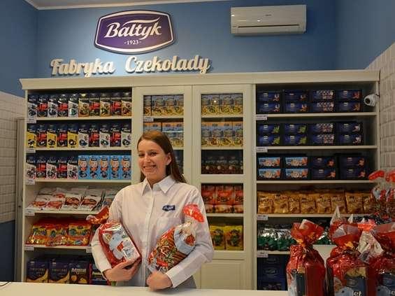 """Fabryka Czekolady """"Bałtyk"""" otworzyła pierwszy sklep firmowy w Gdyni"""
