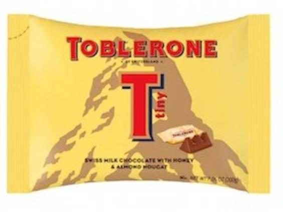 Index Food. Toblerone Milk Tiny