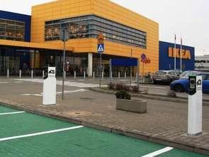 IKEA rozwija stacje ładowania samochodów elektrycznych