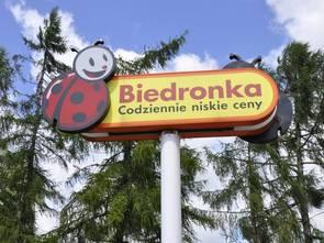 Biedronki i Lidle na północy Warszawy