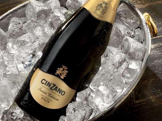Wina musujące Cinzano
