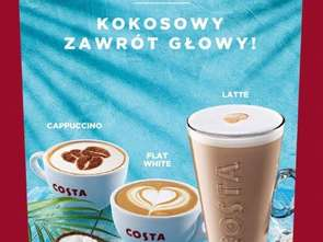 Costa Coffee alternatywnie dla mleka