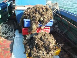 Z Bałtyku wyłowiono 147 ton śmieci