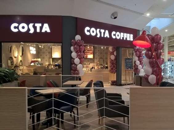 Costa Coffee w Pasażu Tesco w Krakowie
