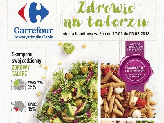 Carrefour promuje zdrowe odżywianie
