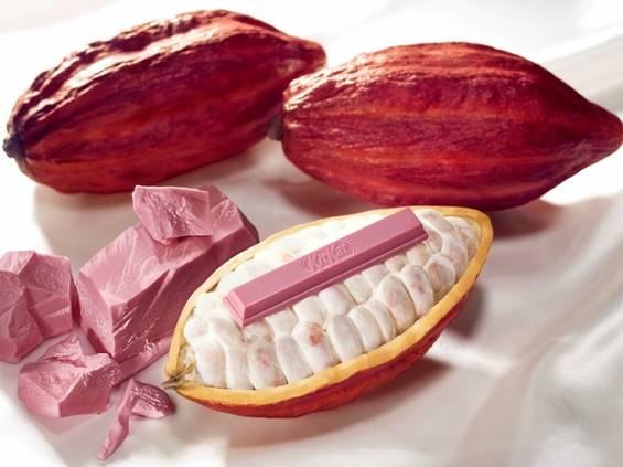 Nestlé wprowadza KitKat z różową czekoladą