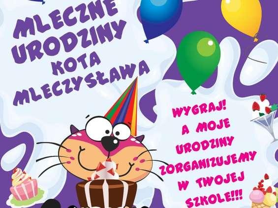 """""""Mleczne urodziny kota Mleczysława"""""""