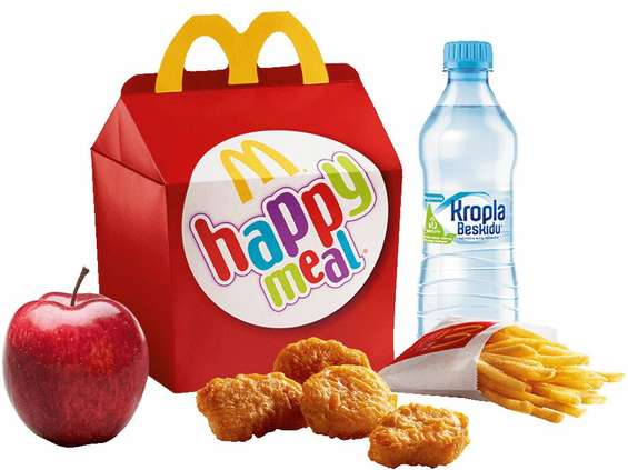 "McDonald's ""uzdrawia"" Happy Meale"