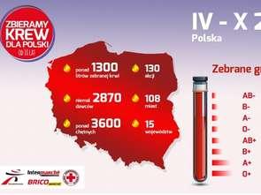 Muszkieterowie zebrali krew dla Polski