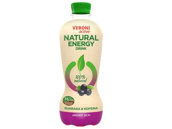 Zbyszko Company. Veroni Active Natural Energy Drink