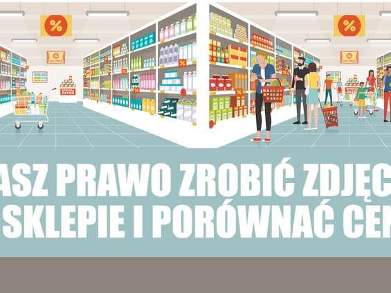 UOKiK: klient ma prawo fotografować ceny w sklepach