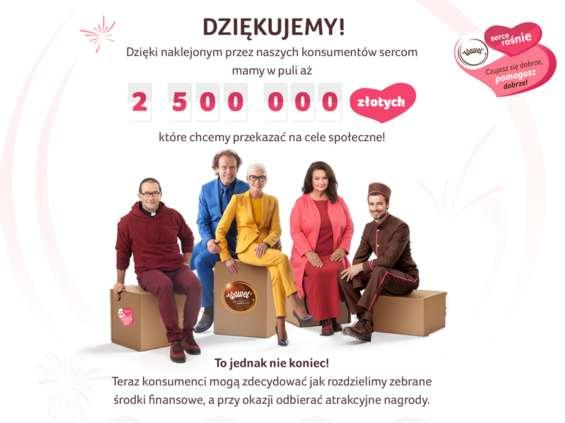 "Rusza drugi etap akcji ""Serce Rośnie"""