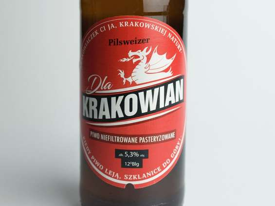 Pilsweizer wprowadza na rynek piwo Dla Krakowian