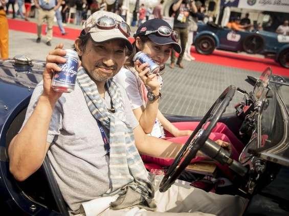 Cisowianka Perlage na Mille Miglia Storica