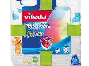 Vileda. Ściereczki Microfibre Colors