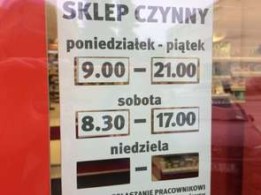 Niedziele z zakazem: mniej sklepów małoformatowych otwartych