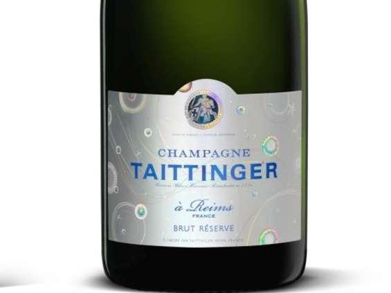 Limitowana edycja szampana Taittinger