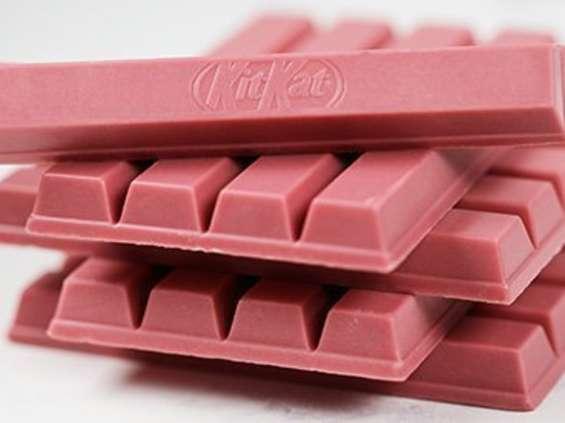 Różowy KitKat wkrótce zawita do Europy