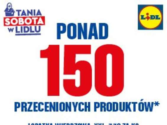 150 produktów w promocji w Lidlu