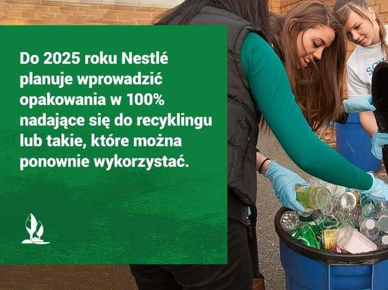 Nestlé stawia na recykling
