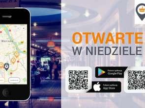 Aplikacja informująca o otwartych w niedziele sklepach