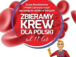 """Intermarché w 11. kampanii """"Zbieramy krew dla Polski"""""""