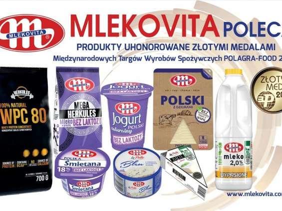 Mlekovita największym triumfatorem targów Polagra Food 2018
