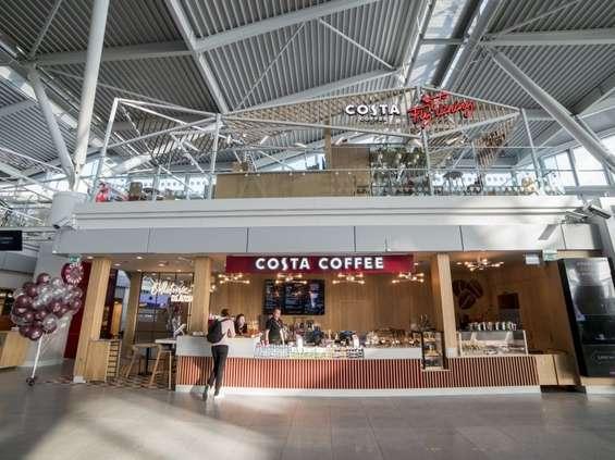 """Costa Coffee z nowym """"podniebnym"""" konceptem"""