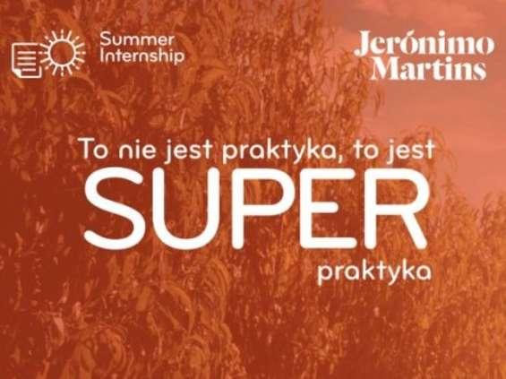 Letnie praktyki w Biedronce