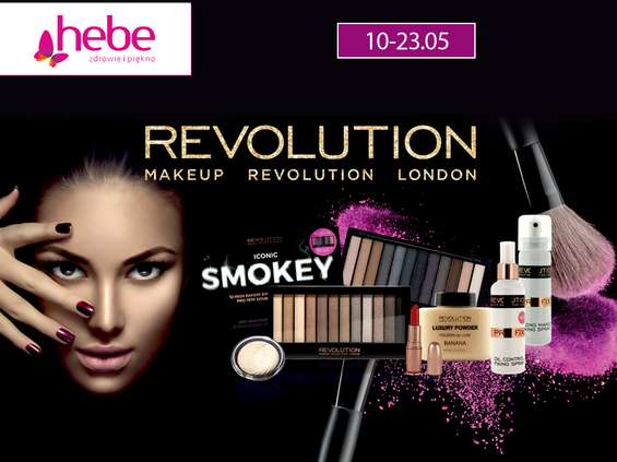 W Hebe promocja Makeup Revolution