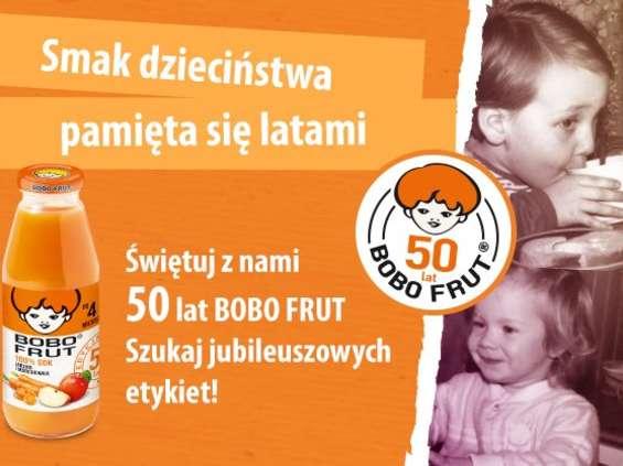 Bobo Frut ma już 50 lat
