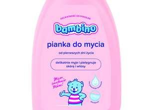 Nivea Polska. Bambino Pianka do mycia 2w1