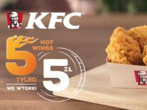KFC promuje skrzydełka